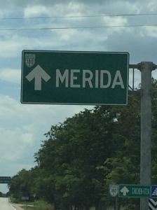 Arriving in Merida